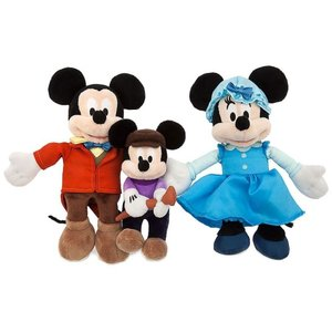 ディズニー ぬいぐるみ おもちゃ Mickey Mouse Holiday 2016 Mickey's Christmas Carol Exclusive 8-Inch Plush 3-Pack Set [Mickey, Minnie & Tiny Tim]|fermart-hobby