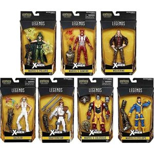 エックスメン X-Men ハズブロ Hasbro Toys フィギュア おもちゃ Marvel Legends Warlock Series Set of 7 Action Figures|fermart-hobby