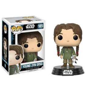 ジン アーソ Jyn Erso ファンコ Funko フィギュア おもちゃ Rogue One POP! Star Wars Young Vinyl Bobble Head #185|fermart-hobby