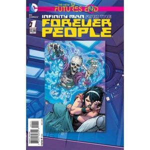 ディーシー コミックス DC 本・雑誌 The New 52 Futures End Infinity Man and the Forever People Comic Book [One-Shot, Lenticular Cover]|fermart-hobby
