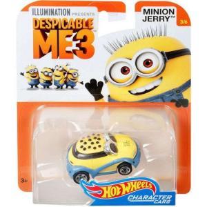 ホットウィール Hot Wheels おもちゃ・ホビー Despicable Me 3 Minion Jerry Diecast Character Car #3/6|fermart-hobby