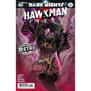 ディーシー コミックス DC 本・雑誌 Dark Nights Metal: Hawkman Found #1 Comic Book [Liam Sharp Foil-Stamped Cover]|fermart-hobby