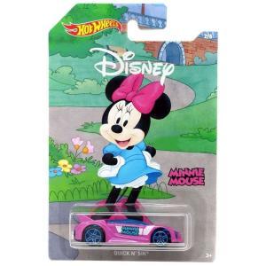 ホットウィール Hot Wheels おもちゃ・ホビー Disney Mickey the True Original Quick N' Sik Die Cast Car #2/8 [Minnie Mouse]|fermart-hobby