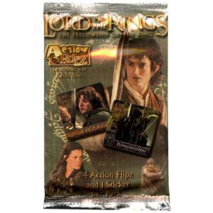 ロード オブ ザ リング The Fellowship of the Ring アートボックス Artbox おもちゃ The Lord of the Rings Action Flipz Card Pack|fermart-hobby