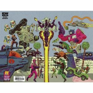 コミック/本 Comic Books 本・雑誌 Transformers Vs. G.I. Joe #1 Comic Book [Diamond Previews SDCC Wraparound Cover C] fermart-hobby