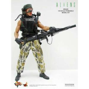 エイリアン Alien ホットトイズ Hot Toys フィギュア おもちゃ s Movie Masterpiece Mark Drake 1/6 Collectible Figure|fermart-hobby