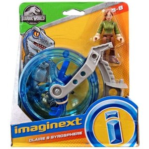 イメージネクスト Imaginext フィギュア Jurassic World Claire & Gyrosphere Figure Set fermart-hobby