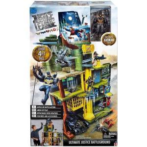 バットマン Batman マテル Mattel おもちゃ DC Justice League Movie Ultimate Battleground Playset|fermart-hobby