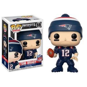 NFL ファンコ Funko フィギュア おもちゃ New England Patriots POP! Sports Tom Brady Vinyl Figure [Color Rush] fermart-hobby