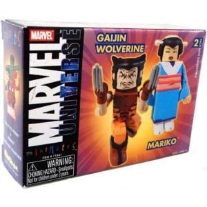 ウルヴァリン Wolverine ダイアモンド セレクト フィギュア おもちゃ Marvel Universe Minimates Exclusives & Mariko Exclusive Minifigure 2-Pack|fermart-hobby