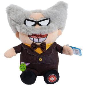 スーパーヒーロー パンツマン Captain Underpants ジャストプレイ Just Play ぬいぐるみ おもちゃ Professor Poopypants Talking Plush|fermart-hobby
