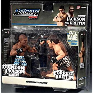 UFC UFC フィギュア Ultimate Collector Versus Series 1 Quinton Jackson Vs. Forrest Griffin Action Figure 2-Pack|fermart-hobby