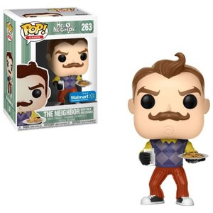 ハローネイバー Hello Neighbor ファンコ Funko フィギュア おもちゃ POP! Games The Neighbor with Milk & Cookies Exclusive Vinyl Figure #263|fermart-hobby