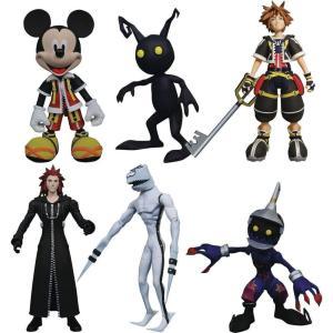 キングダム ハーツ ダイアモンド セレクト フィギュア おもちゃ Disney Select Sora, Dusk, Soldier, Mickey Mouse, Axel & Shadow Action Figures|fermart-hobby