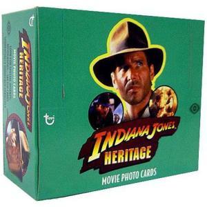 インディ ジョーンズ Indiana Jones トップス Topps カードゲーム おもちゃ Heritage Trading Card HOBBY Box [24 Packs]|fermart-hobby