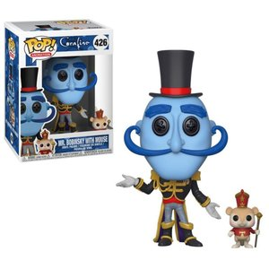 コララインとボタンの魔女 Coraline フィギュア POP! Animation Mr. Bobinsky with Mouse Vinyl Figure #426|fermart-hobby