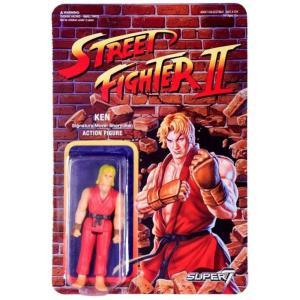 リアクション ReAction フィギュア Street Fighter II Ken Action Figure|fermart-hobby