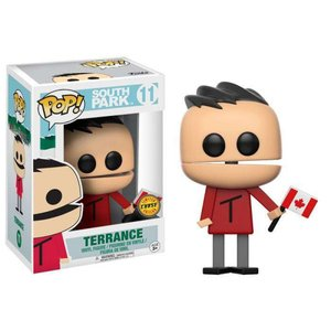 サウスパーク South Park フィギュア POP! TV Terrance Vinyl Figure #11 [Canadian Flag Chase Version] fermart-hobby