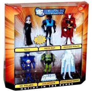 ジャスティス リーグ Justice League Unlimited マテル Mattel Toys フィギュア おもちゃ DC Universe Mutiny in the Ranks Exclusive Action Figure Set|fermart-hobby