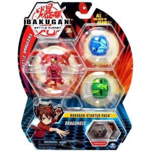 爆丸バトルブローラーズ Bakugan Battle Planet おもちゃ・ホビー Battle Brawlers Dragonoid Starter Pack|fermart-hobby