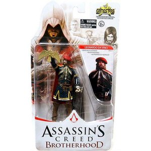 アサシン クリード Assassin's Creed ユニマックス Unimax フィギュア おもちゃ Brotherhood Gamestars Leonardo da Vinci Action Figure|fermart-hobby