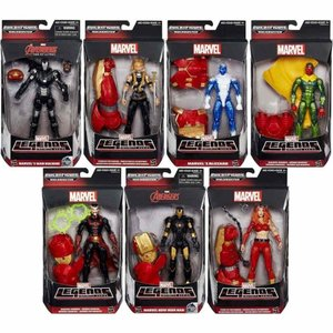 アベンジャーズ Avengers ハズブロ Hasbro Toys フィギュア おもちゃ Marvel Legends Hulkbuster Series Set of 7 Action Figures|fermart-hobby