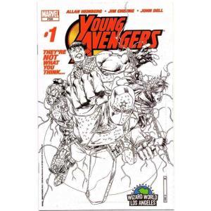 アベンジャーズ Young Avengers マーベル Marvel おもちゃ #1 Comic Book [Variant Cover Wizard World VIP]|fermart-hobby