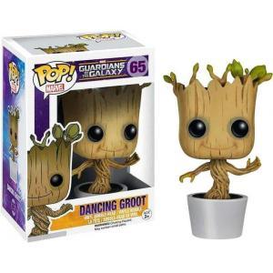 ガーディアンズ オブ ギャラクシー Guardians of the Galaxy フィギュア POP! Marvel Dancing Groot Vinyl Bobble Head #65 [White Pot]|fermart-hobby