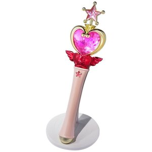 バンダイ Bandai フィギュア おもちゃ Sailor Moon Proplica Pink Moon Stick Prop Replica fermart-hobby