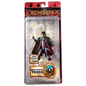 ロード オブ ザ リング The Lord of the Rings トイビズ Toy Biz フィギュア おもちゃ The Two Towers Series 3 Frodo Baggins Action Figure [Super Poseable]|fermart-hobby