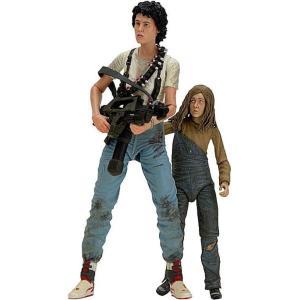 ネカ NECA フィギュア おもちゃ Aliens 30th Anniversary Rescuing Newt Deluxe Action Figure 2-Pack [Ripley & Newt] fermart-hobby