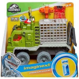イメージネクスト Imaginext おもちゃ・ホビー Jurassic World Dinosaur Hauler Playset fermart-hobby