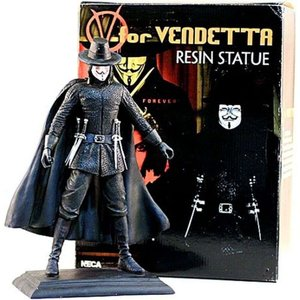 V フォー ヴェンデッタ V for Vendetta 彫像・スタチュー V 12-Inch Resin Statue|fermart-hobby