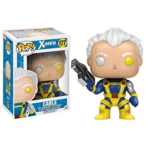 エックスメン X-Men ファンコ Funko フィギュア おもちゃ Marvel POP! Marvel Cable Vinyl Bobble Head #177|fermart-hobby