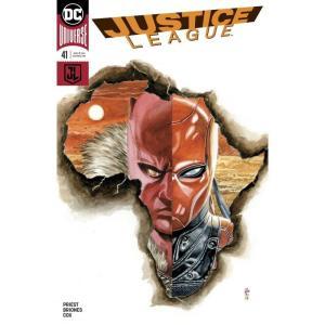 ジャスティス リーグ Justice League ディーシー コミックス DC Comics おもちゃ DC #41 Comic Book [Variant Cover]|fermart-hobby