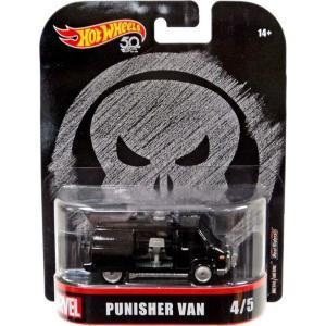 ホットウィール Hot Wheels おもちゃ・ホビー Marvel The Punisher Punisher Van Die-Cast Car #4/5|fermart-hobby