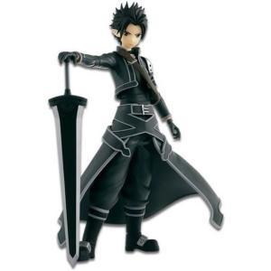 ソードアート オンライン Sword Art Online バンプレスト BanPresto フィギュア おもちゃ Fairy Dance Kirito 6.6 Collectible PVC Figure [Black & Silver]|fermart-hobby