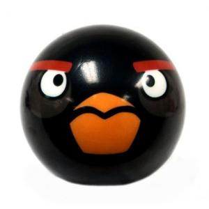 アングリーバード Angry Birds コモンウェルストイズ Commonwealth Toys おもちゃ Black Bird 3-Inch Foam Ball|fermart-hobby