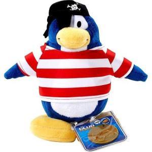 クラブ ペンギン Club Penguin ジャックスパシフィック Jakks Pacific フィギュア おもちゃ Series 2 Shipmate 6.5-Inch Plush Figure [Version 1]|fermart-hobby