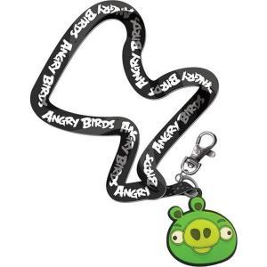 アングリーバード Angry Birds コモンウェルストイズ Commonwealth Toys ストラップ おもちゃ Green Pig Lanyard|fermart-hobby