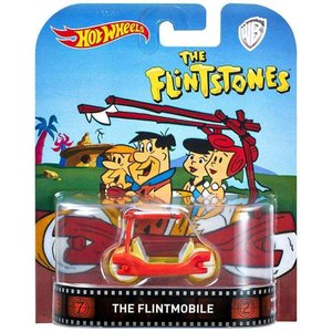 ホットウィール Hot Wheels マテル Mattel Toys おもちゃ The Flintstones The Flintmobile Die-Cast Car|fermart-hobby