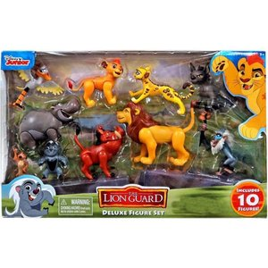 ライオン ガード The Lion Guard フィギュア Disney Deluxe Exclusive Figure 10-Pack|fermart-hobby