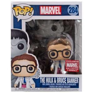 ハルク Hulk ファンコ Funko フィギュア おもちゃ Thor Ragnarok POP! Marvel The & Bruce Banner Exclusive Vinyl Bobble Head|fermart-hobby