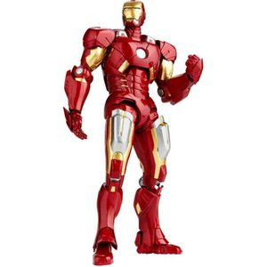 アイアンマン Iron Man リボルテック Revoltech フィギュア おもちゃ Legacy of Action Figure LR-041 [Mark VII]|fermart-hobby