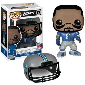 NFL NFL フィギュア Detroit Lions POP! Sports Calvin Johnson Vinyl Figure #17 fermart-hobby