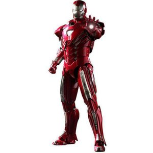 アイアンマン Iron Man ホットトイズ Hot Toys フィギュア おもちゃ 3 Movie Masterpiece Mark 33 Silver Centurion 1/6 Collectible Figure|fermart-hobby