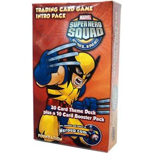 ウルヴァリン Wolverine アッパーデック Upper Deck おもちゃ Marvel Superhero Squad Online Trading Card Game Intro Pack|fermart-hobby