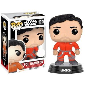 ポー ダメロン Poe Dameron ファンコ Funko フィギュア おもちゃ The Force Awakens POP! Star Wars Exclusive Vinyl Bobble Head #120 [Jumpsuit]|fermart-hobby