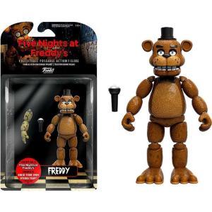 ファイヴナイツアットフレディーズ Five Nights at Freddy's ファンコ Funko フィギュア おもちゃ Freddy Action Figure [Build Spring Trap Part]|fermart-hobby
