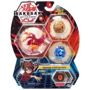 爆丸バトルブローラーズ Bakugan Battle Planet おもちゃ・ホビー Pyrus Nillious Starter Pack|fermart-hobby